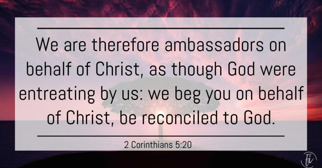 2 Corinthians 5:20 Bible Verse