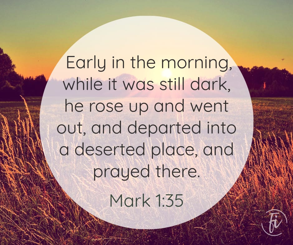 Mark 1:35 Bible Verse