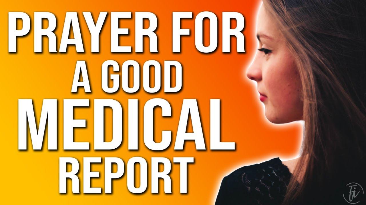 prayer for good medical results